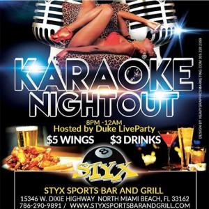 Karaoke Night Styx